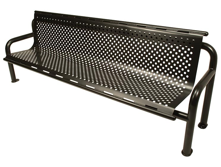 JACKSON BENCH WITH BACK