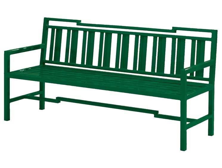 ATHENOS BENCH WITH BACK
