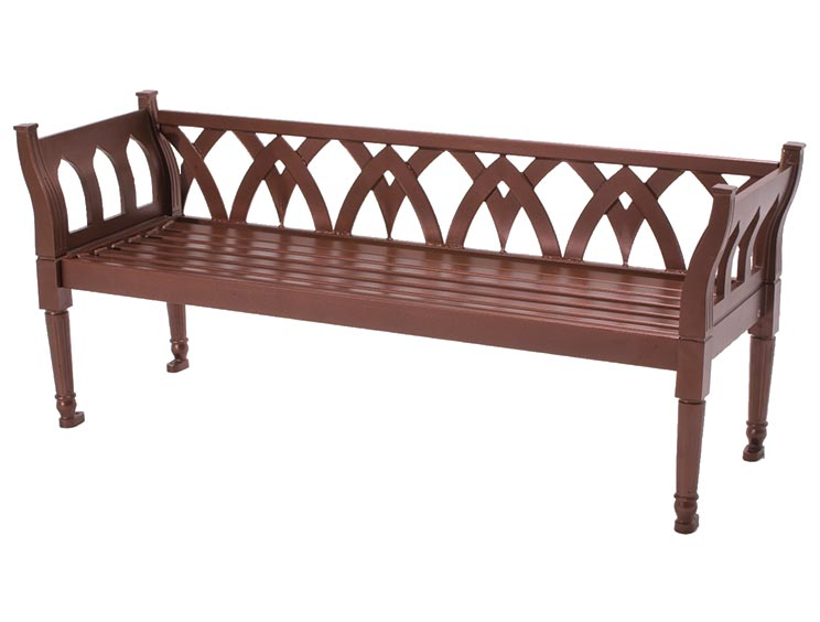 AUGUSTINE BENCH WITH BACK