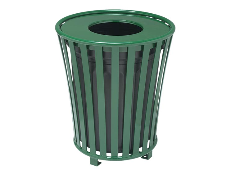 BASKET LITTER RECEPTACLE