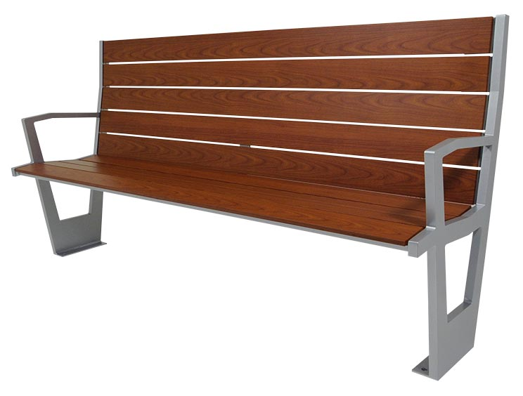 CREEKVIEW BENCH WITH BACK