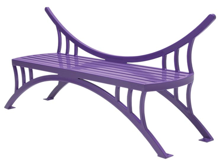 DRAGONFLY BENCH WITH BACK