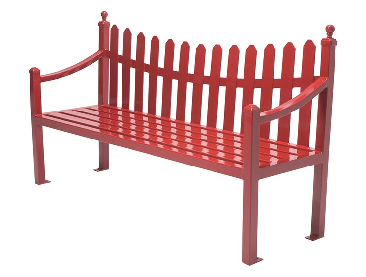 FENWICK BENCH WITH BACK