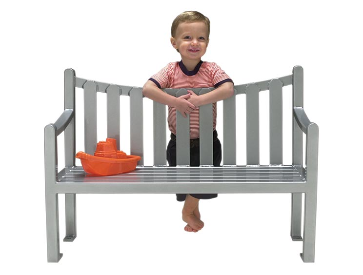 PUDDIN DRIPPINS FENWICK BENCH WITH BACK
