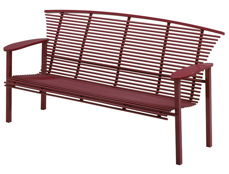 HORIZON BENCH WITH BACK