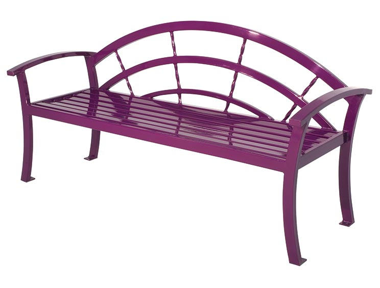 KERRINGTON BENCH WITH BACK