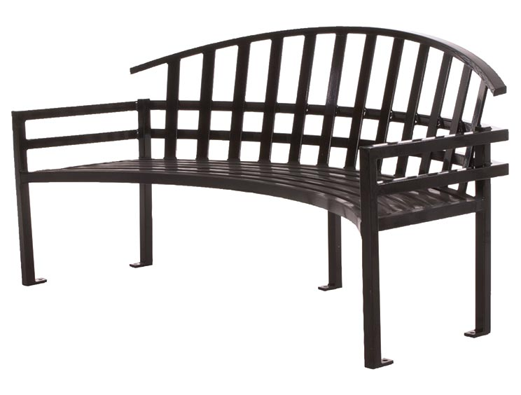 MCCONNELL CURVED BENCH WITH BACK