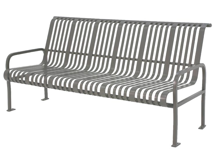 MIDTOWN BENCH WITH BACK