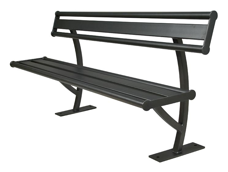 PENN BENCH WITH BACK