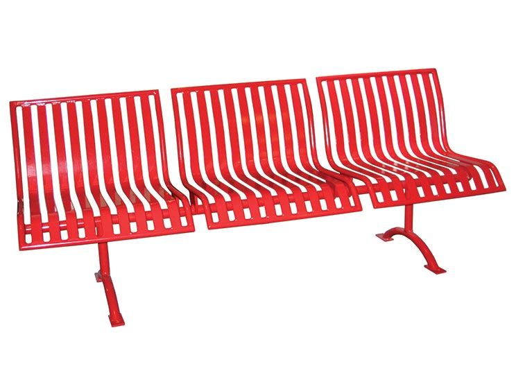 PULLENIUM MODULAR BENCH WITH BACK