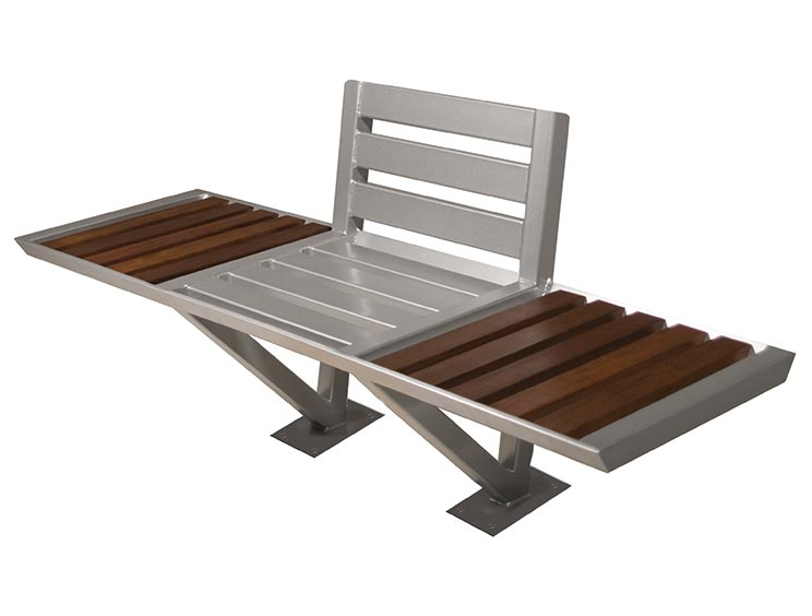 VOLANT BENCH WITH BACK