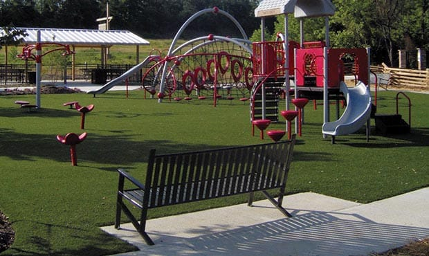Site furniture can be for kids too