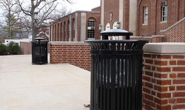 Midtown litter receptacles at Penn State University