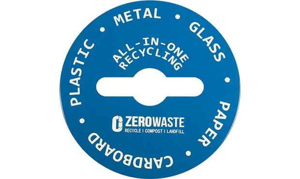 Blue Zero Waste Recycling Lid