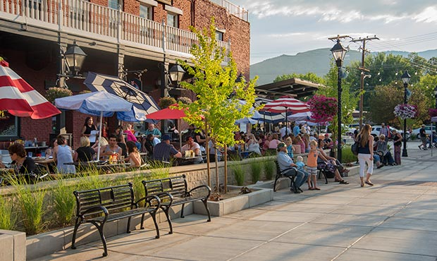Highlighting the downtown revitalization project in Carson City, NV