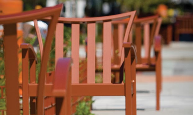 Create safer public spaces with site furnishings
