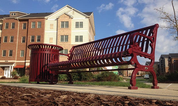Senior living communities can require specific site furnishings