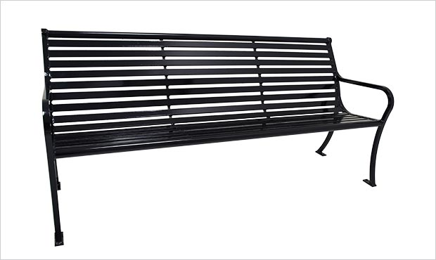 New Bessemer Bench with Back