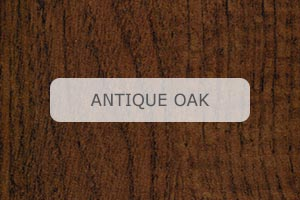 Wood Grain Aluminum Antique Oak pattern