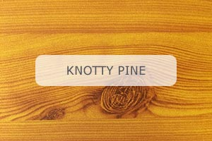 Wood Grain Aluminum Knotty Pine pattern