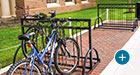 Custom Atlanta Bike Racks at Miami University in Oxford, OH