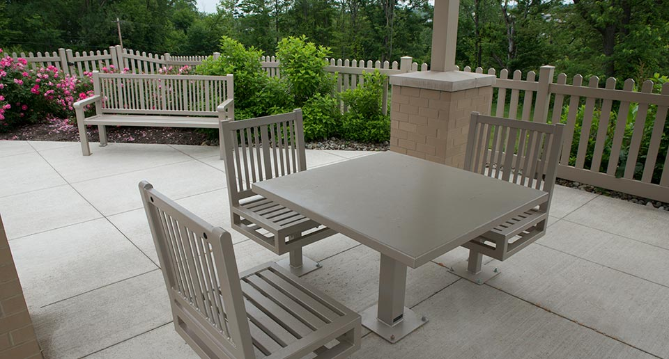 Custom Reading Table Set with ADA accessibility